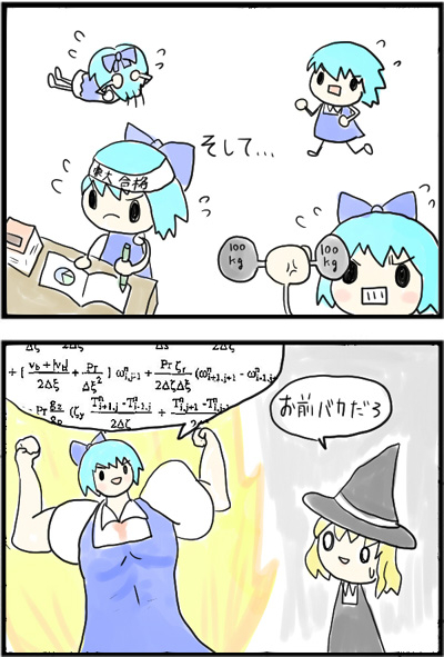 So if I get ripped and speak in math equations, will I become the strongest in Gensokyo?